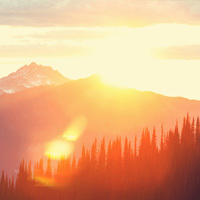 Heritage Cremation Society Obituaries Image - Sunrise Over Mountains
