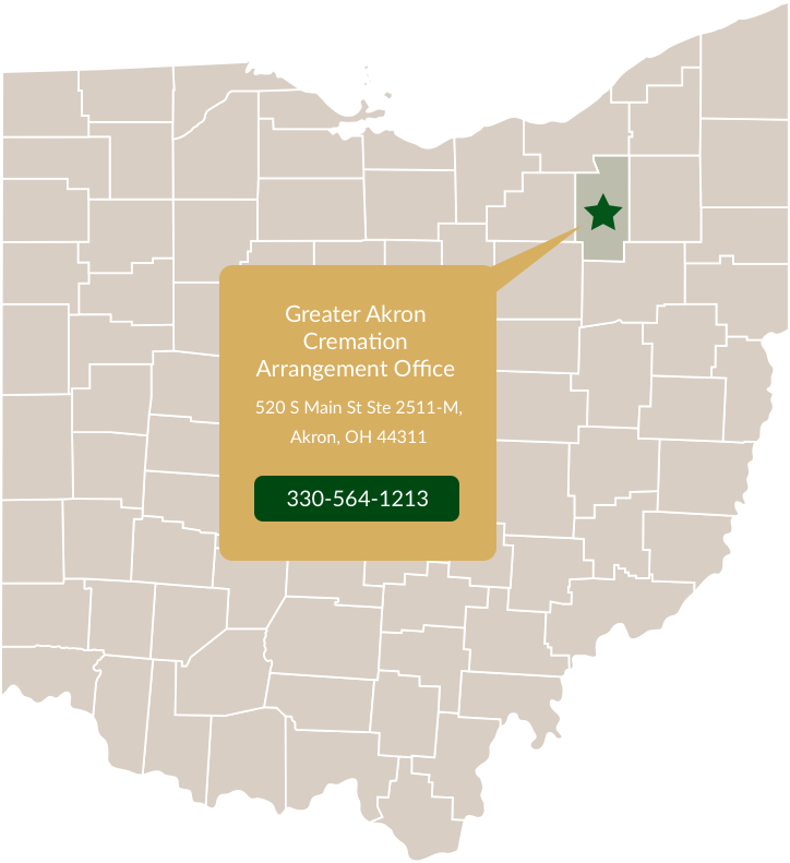 Greater Akron Map