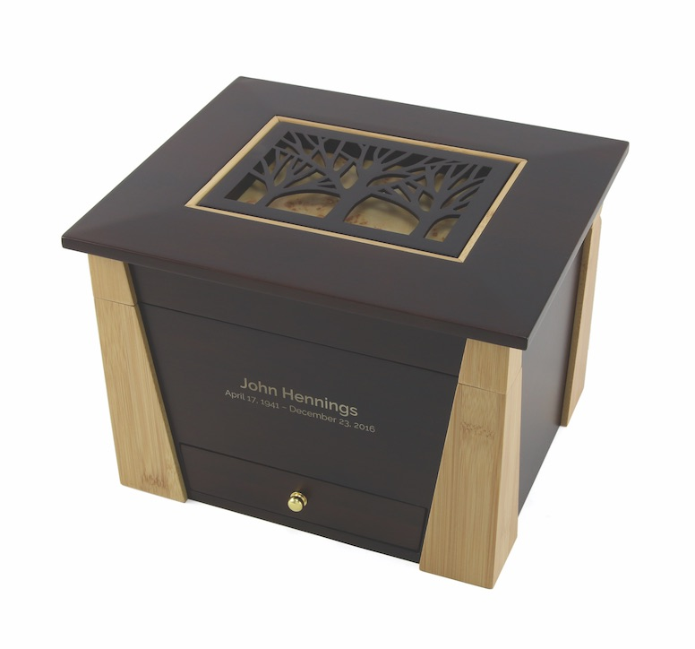CMB806 Craftsman Memory Chest 1- Engraved